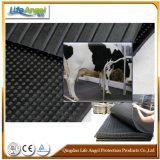 Matraca de vaca leiteira preta e colchão de cavalo / colchão de vacas / esteira de gado de borracha