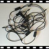 Plástico negro de la cadena del sello de la ropa (ST009)