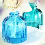 Botella de cristal de 100 ml Aroma Reed difusor, difusor de lámina con los palillos de la rota