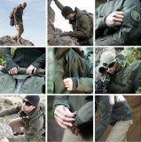Rivestimenti militari impermeabili di campeggio di caccia esterna degli uomini tattici