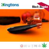 E-Cigarrillo seco vendedor caliente de la mamba del negro del vaporizador de la hierba 2017