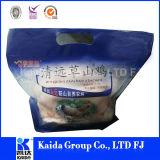 Sac d'empaquetage en plastique d'impression de garantie pour le poulet rôti chaud