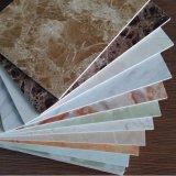 el panel de pared revestido ULTRAVIOLETA del vinilo del PVC del color de mármol de 3m m