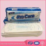 De vrije Sanitaire Stootkussens van Steekproeven Dame Care