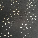 Matéria- prima de couro de vinda nova do PVC com a decoração do Glitter para a senhora Sapata