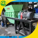 Shredder biaxial/dobro do eixo para os pneus Waste/desperdício de madeira/contínuo/lixo de vida