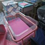 Fabrik-direktes gute Qualitätsstahlrahmen-flaches Krankenhaus-Kind-Bett