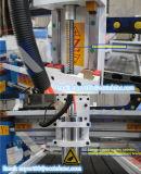 2016高品質木、機械を切り分けているMDFのアクリル、石、Aluminum/CNCのための経済的なデスクトップの小型CNCの木工業機械装置Akg6090