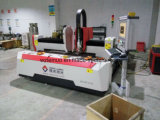 1500W tipo máquina do pórtico do CNC 1500*4000mm de estaca do laser da fibra