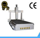 المياه 3KW التبريد المغزل CNC آلات النجارة / نحت الخشب آلات التصنيع باستخدام الحاسب الآلي