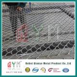 Cerca galvanizada de la conexión de cadena del acero inoxidable del acoplamiento de alambre del diamante/cerca del estacionamiento