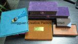 Ledernes Schokoladen-Luxuxgeschenk-verpackenkasten