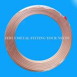 Abkühlung-Kupfer-Rohrleitung des R410A Grad-9.52X0.8mm flexible