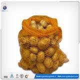 saco líquido do PE da laranja de 40*60cm para batatas e cebolas de empacotamento