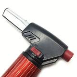Stehendes rotes windundurchlässiges Strahlen-Flamme-nachfüllbares Gas-Fackel-Feuerzeug (ES-TL-017)