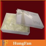 Caixa de papel de embalagem fácil com fita na capa