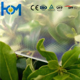Vetro solare dell'arco libero del galleggiante con ferro basso per il modulo di PV
