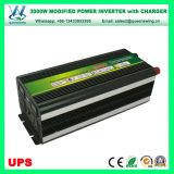 UPSの充電器及びデジタル表示装置(QW-M3000UPS)が付いている3000W車インバーター