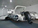 Liya 8.3m Hypalon costilla Barco Yate de lujo Sport barco inflable con CE