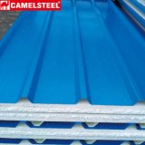 Выбитая крыша металла PPGI Corrugated