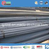 Barra de acero deformida reforzada material de acero