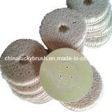 Spazzola di lucidatura rotonda materiale della canapa di sisal (YY-032)