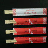 Les chemises rouges faites sur commande ont estampé les baguettes en bambou remplaçables