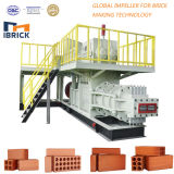 Máquina de fabricación de ladrillo automática llena de la arcilla de la mejor calidad de China