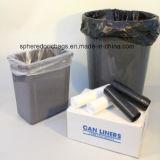 Tapa resistente del estilo del plástico S/bolso de basura superior del lazo