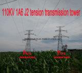 Torretta della trasmissione di tensionamento di Megatro 110kv 1A6 J2