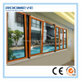 Guichet en aluminium cassé en aluminium de tissu pour rideaux de spire et d'inclinaison de passerelle de Roomeye (RMTTW-10)