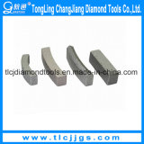 Segmentos del taladro de base del diamante de la alta calidad para la venta