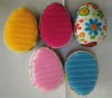 Detanglingの子供のための小型卵のヘア・ブラシ