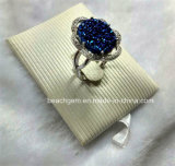 Juwelen-natuurlijke Echte Zilveren Ringen Larimar (R1366)