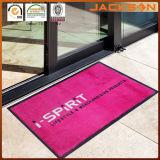 Couvre-tapis de porte en caoutchouc d'étage de logo bienvenu de compagnie