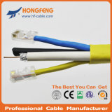 Совмещенный кабель 2X1.50 Mm2 + 2X0.50mm2 удваивает RG6/4