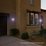 Lumière solaire de qualité argentée de PC pour le décor extérieur de yard