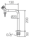 Meubles de laboratoire, robinet de laboratoire (WJH0211D)