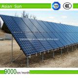 Suporte solar montado terra