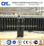 Cylindre de gaz en acier de la qualité 30L d'anhydride carbonique de l'oxygène d'argon à haute pression d'azote
