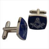Vrijmetselaars- breng In het groot Cufflink van Juwelen onder