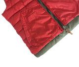 Vest Met een kap van de Hals van het Gezwollen Vest van de Winter van het Weer van de Manier van mensen het Koude Sleeveless Hoge
