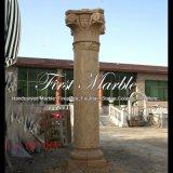 Kolom van de Steen van de woestijn de Gouden voor Decoratie mcol-303 van het Huis