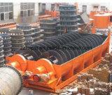 Classificador espiral do único cilindro e do cilindro dobro para a mineração