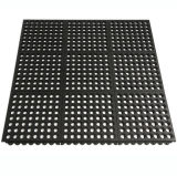 Anti-Slip Interlocking Kitchen / Chef Rubber Floor Protection Mats, Rubber Floor Covering