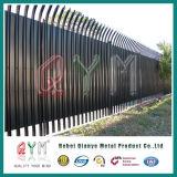 Panneaux de frontière de sécurité enduits par poudre de tôle de frontière de sécurité de palissade euro
