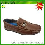 Ботинки новых плоских мальчиков стильные вскользь (GS-LF75336)
