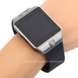 Montre-bracelet intelligente de montre d'appareil-photo de montre de Bluetooth Dz09 avec l'appareil-photo, carte SIM