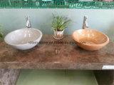 Bassins de granit de piédestal de cuisine de salle de bains de Franke Blanco/de marbre de service en pierre