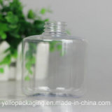 De transparante Plastic Fles overhandigt de Schoonmakende Fles van de Lotion